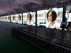 Contrôle des écrans LED