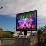 Écrans LED géants extérieurs