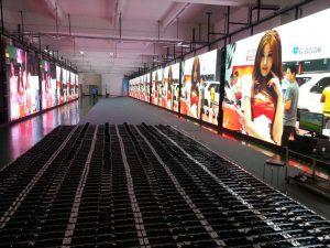 Usine de production des écrans LED