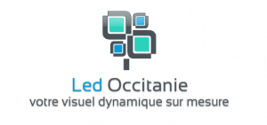 Logo LED Occitanie - Écrans Led - Toulouse