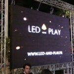 Écran LED géant pour spectacles